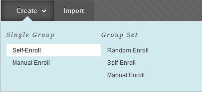 The Self Enroll button