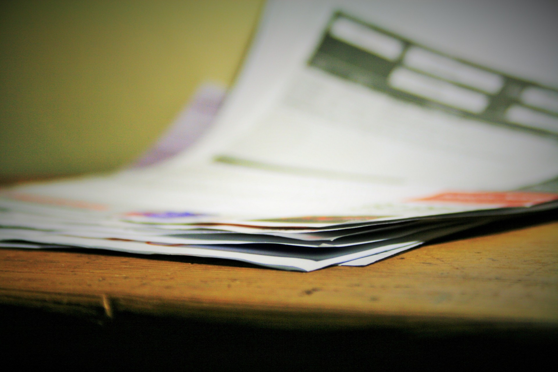 image of pile of paper