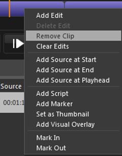 remove clip option