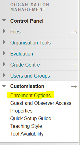 enrollment options link