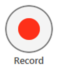 The Record button