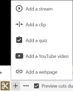 Adding a Clip
