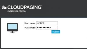 Signing in at software.dmu.ac.uk