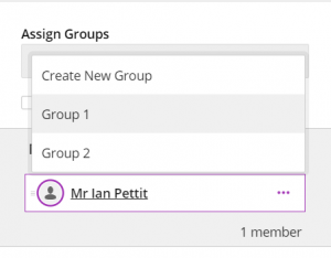 Assigning a Breakout Group