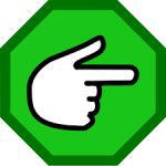 Generic open software icon