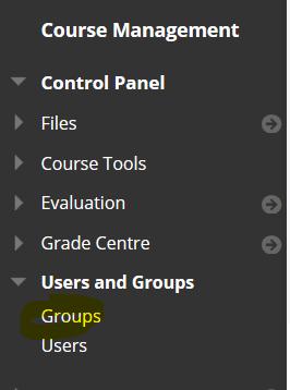 groups option
