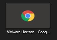 MS Teams - share window running Horizon