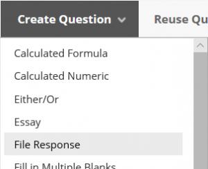 Selecting File Response
