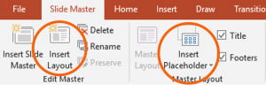 Screenshot of PowerPoint New template search box containing text that says accessible.